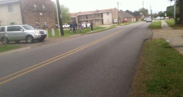 Scene of MLK shooting