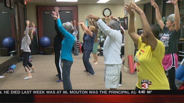 Healing dance helps people move forward