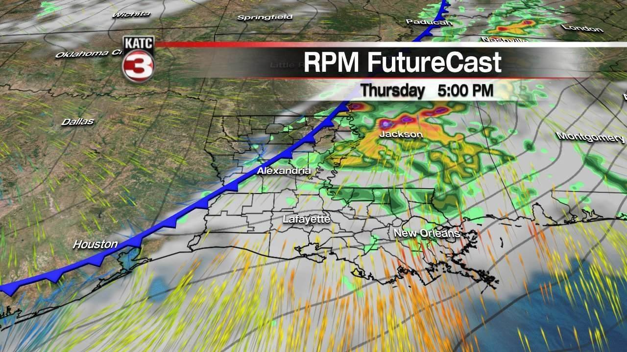 Region could see severe weather Thursday