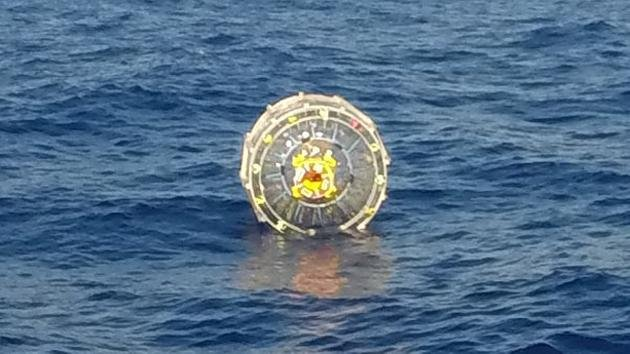 Man rescued from failed bubble journey to Bermuda Triangle