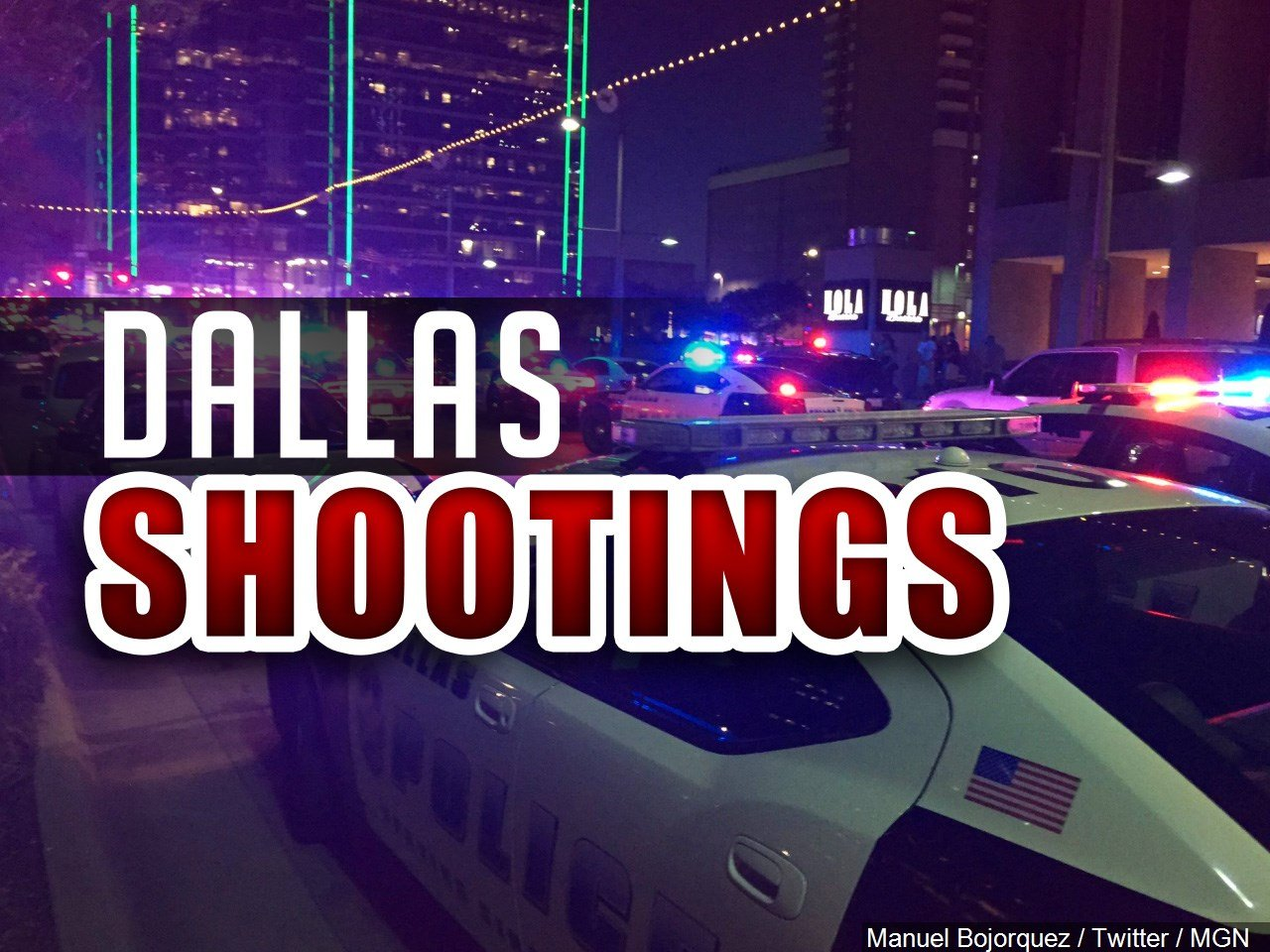 Dallas Police In Manhunt After Threat Received