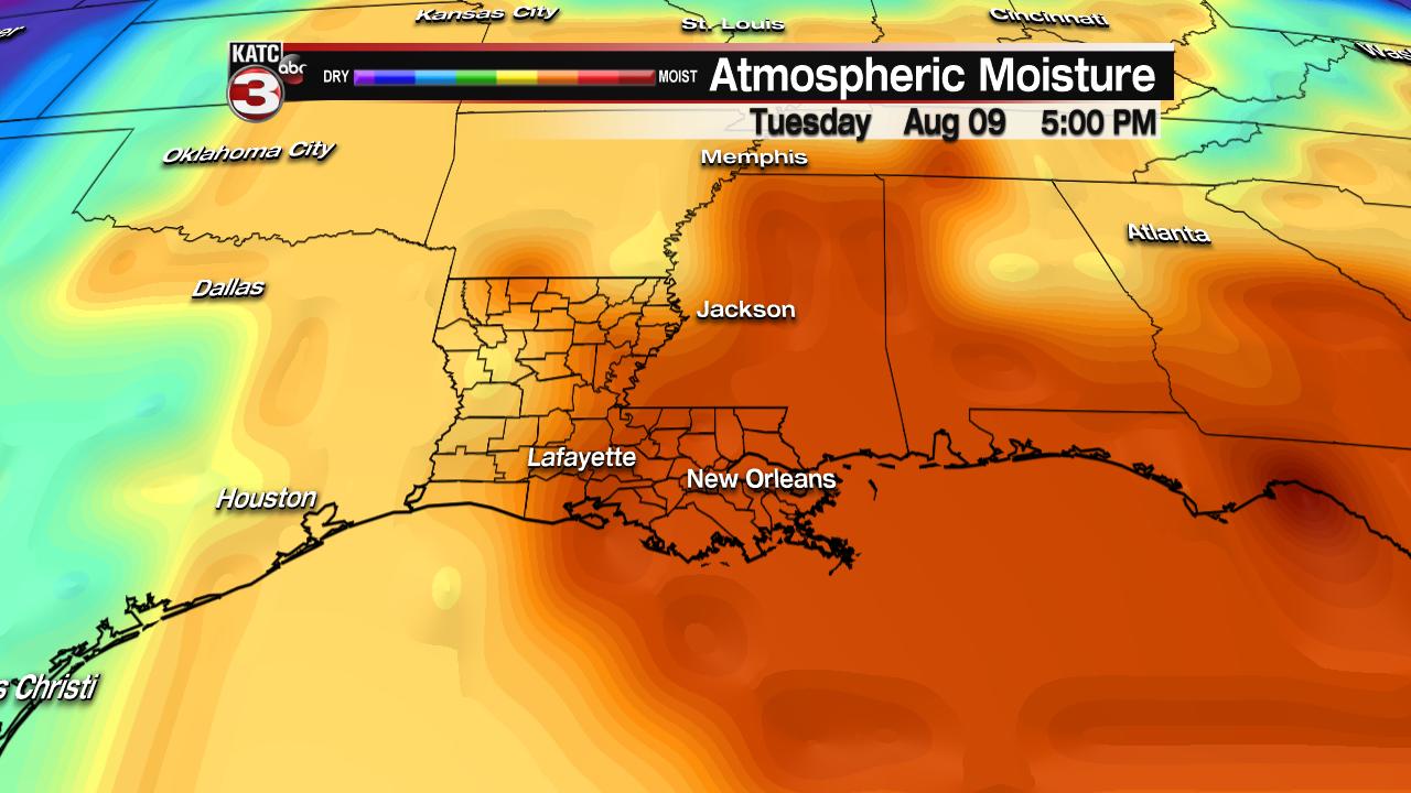Disturbance could bring rain to the northern Gulf Coast