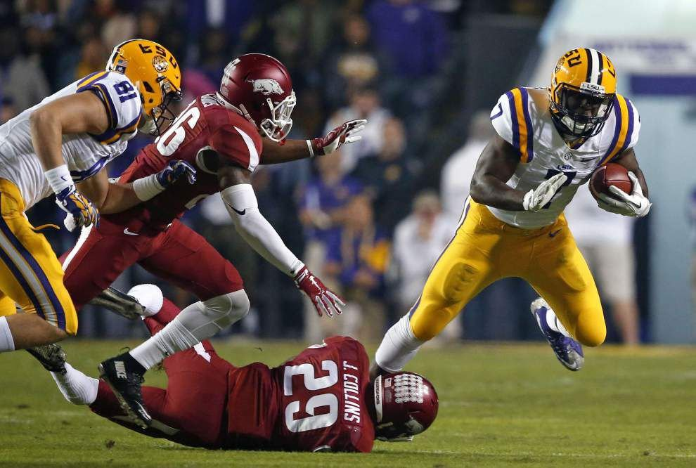 Fournette ready to run as LSU mulls workload