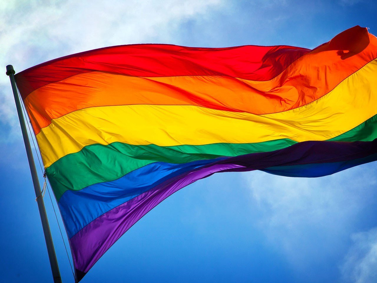 The rainbow flag is a symbol of lesbian, gay, bisexual, and transgender pride and LGBT social movements / Courtesy: MGN Online
