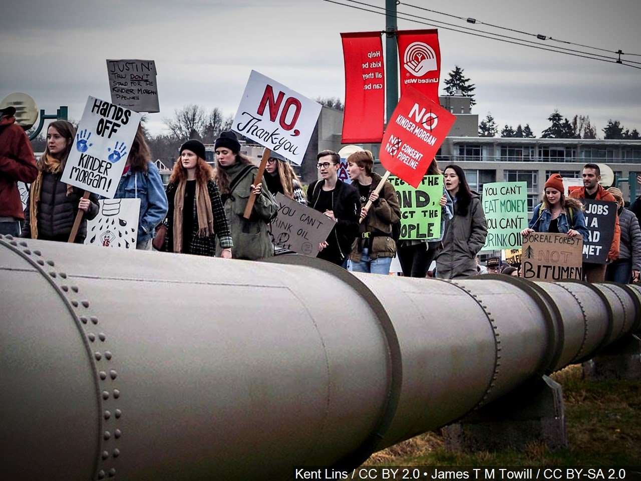 The Dakota Access oil pipeline / Courtesy of MGN Online