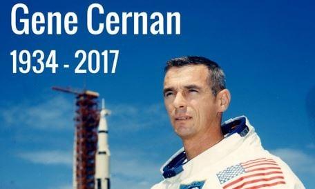 Last man to walk on the Moon dies aged 82