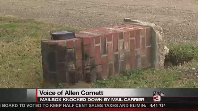 UPS carrier knocks down mailbox, owner wants answers