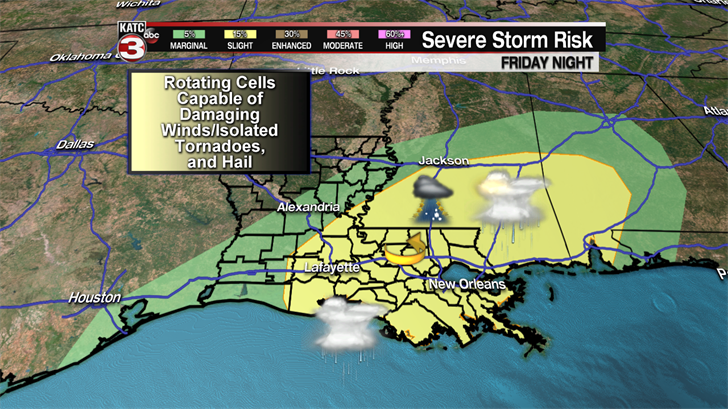 Rucker: Unusually risky tornado threat for our area today