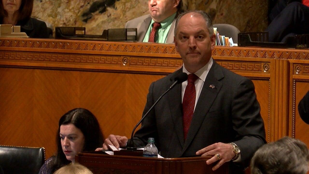 Louisiana Legislature Convenes For Special Session