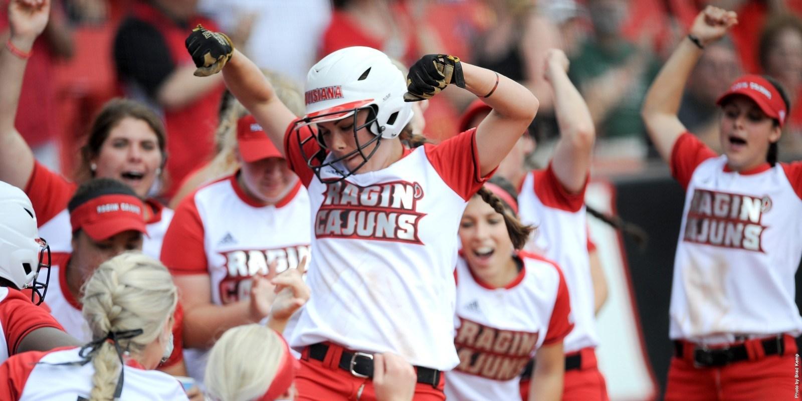 Louisiana OF Haley Hayden (Photo Credit: UL Sports Information Department/Brad Kemp)