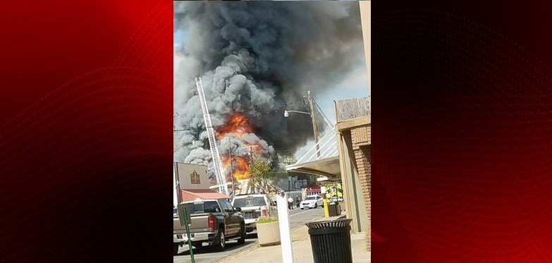 Mamou Fire, Courtesy of Facebook viewers