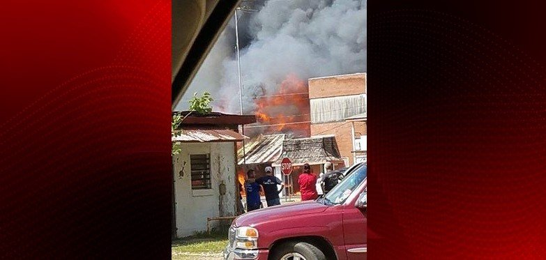 Mamou Fire, Courtesy of Amanda Halas Marks