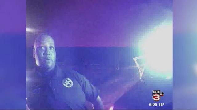 Derrick Stafford captured on body cam