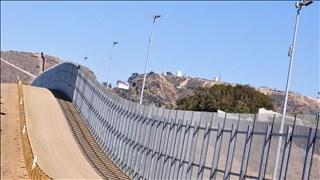 file photo of The U.S. border near Tijuana, Mexico.