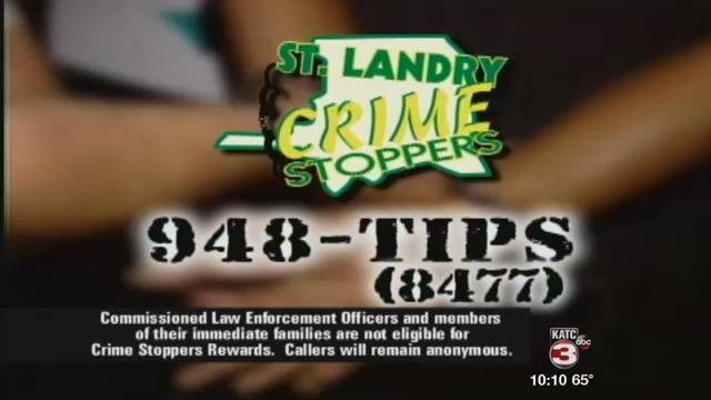 Call 337-948-TIPS if you have information on this crime