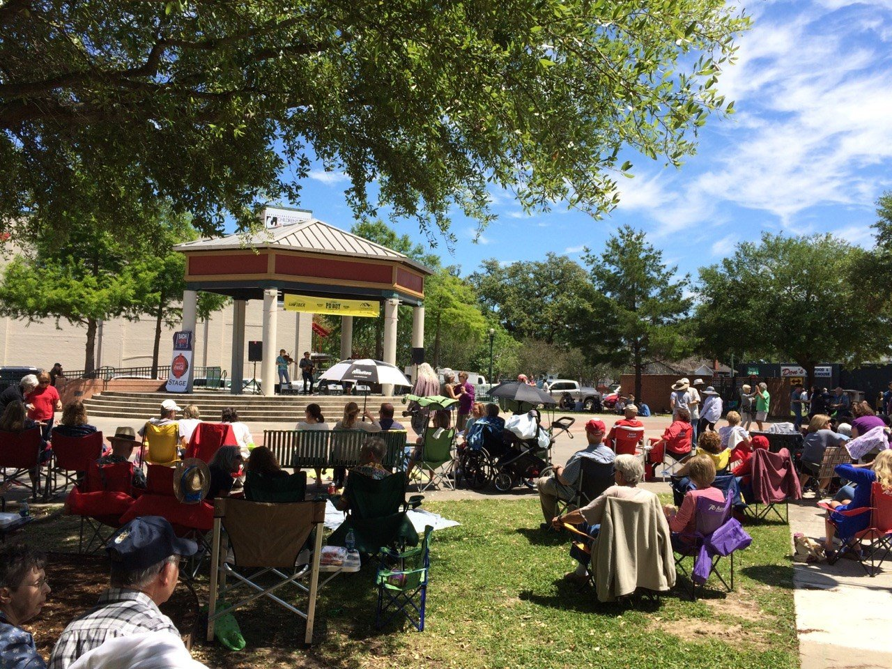 Bach Lunch at Parc Sans Souci April 7, 2017 / KATC