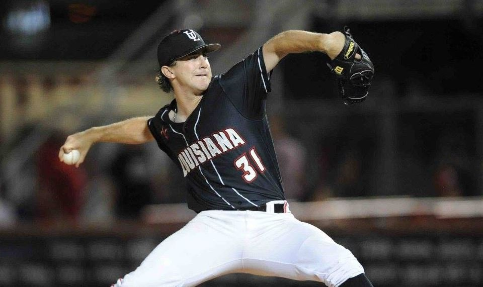 Louisiana RHP Wyatt Marks (Photo Credit: Louisiana Sports Info/Brad Kemp)