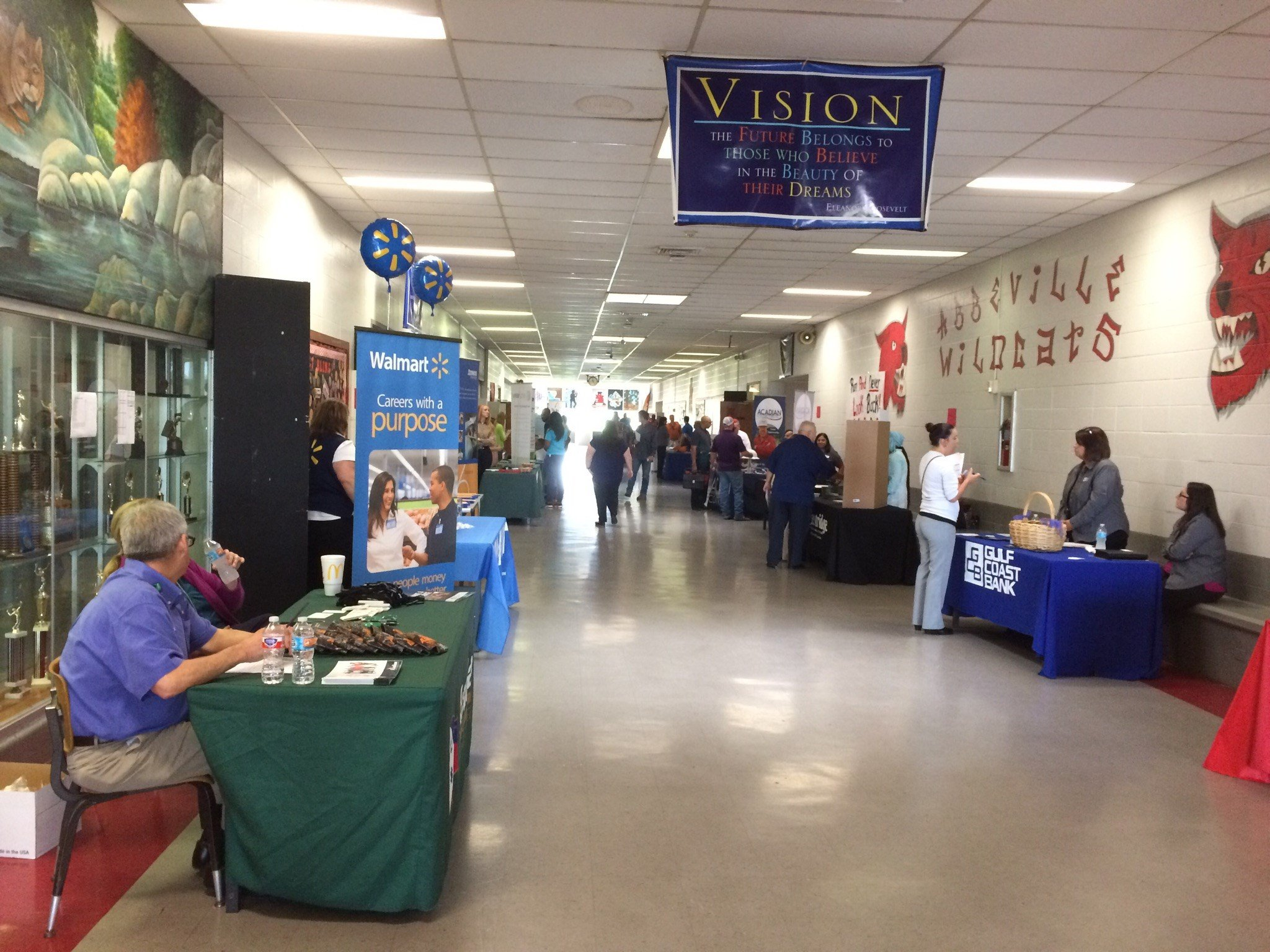 Vermilion Parish Job Fair at Abbeville High School / KATC