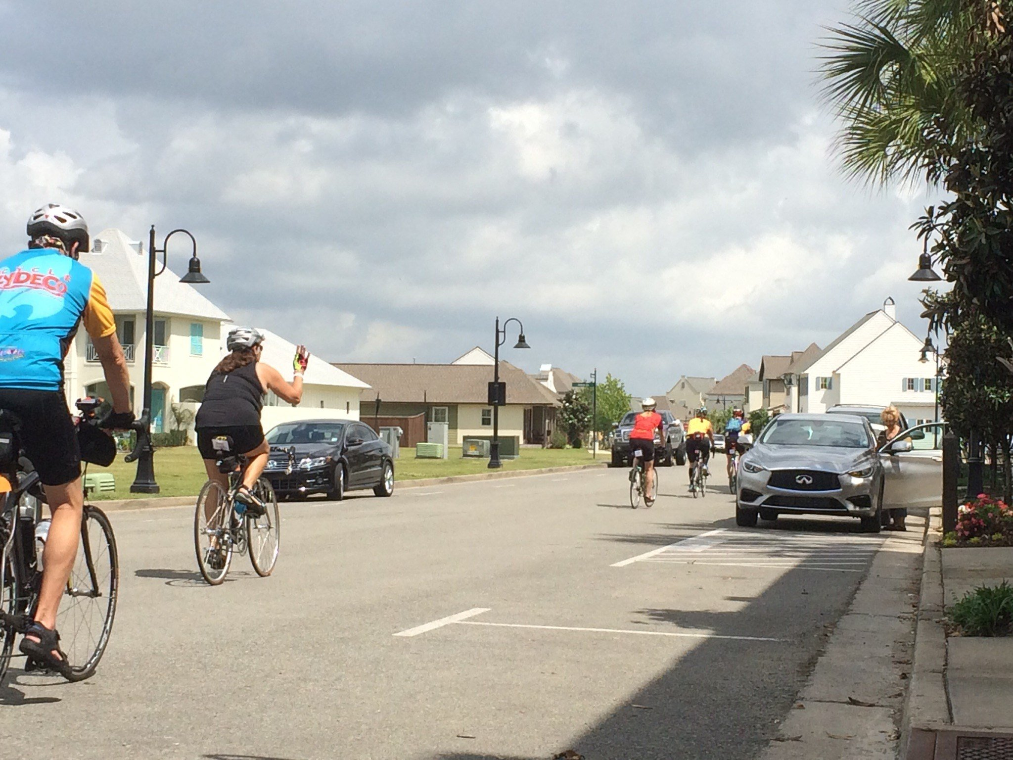 Cycle Zydeco travels through Youngsville's Sugar Mill Pond subdivision / KATC