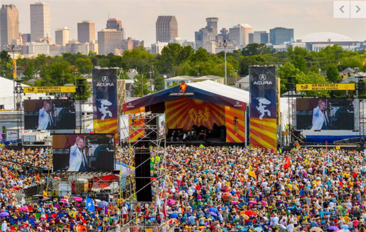 Jazz fest file photo from The Advocate