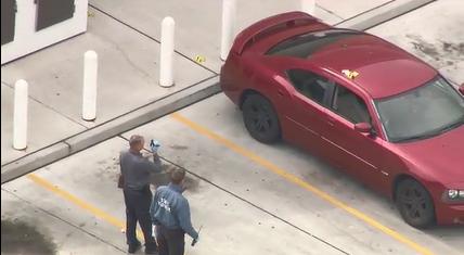 Scene of shooting in Delaware involving officer / Courtesy of CNN