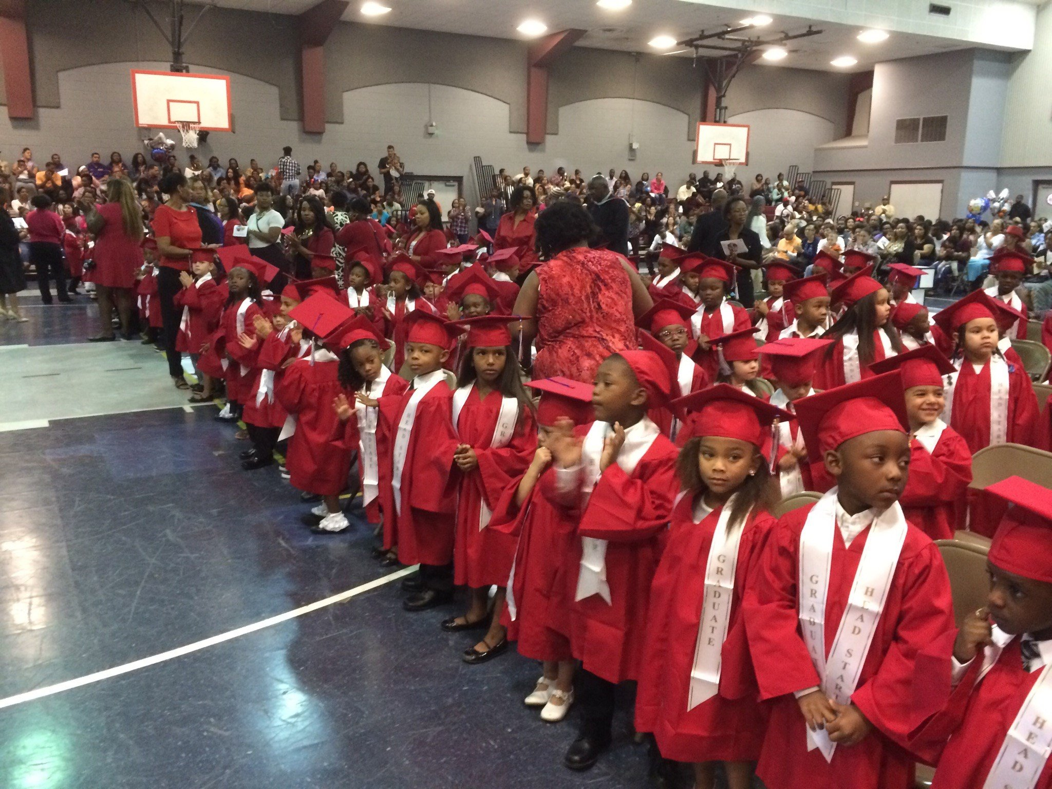 Students at Headstart in Lafayette graduate today / KATC