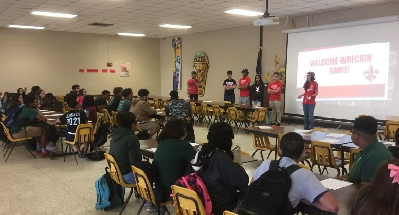 As part of the project, UL students  are supposed to gain as much public exposure as possible by reaching out to various radio and news organizations across Lafayette.