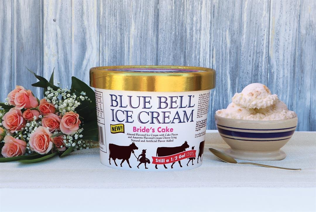 Blue Bell introduces new wedding themed ice cream