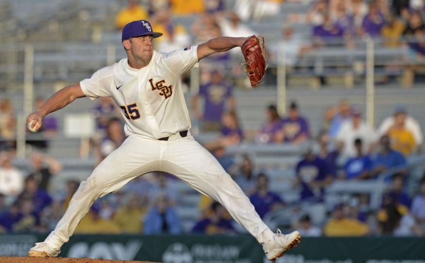 Lange, LSU shut down MSU 3-1