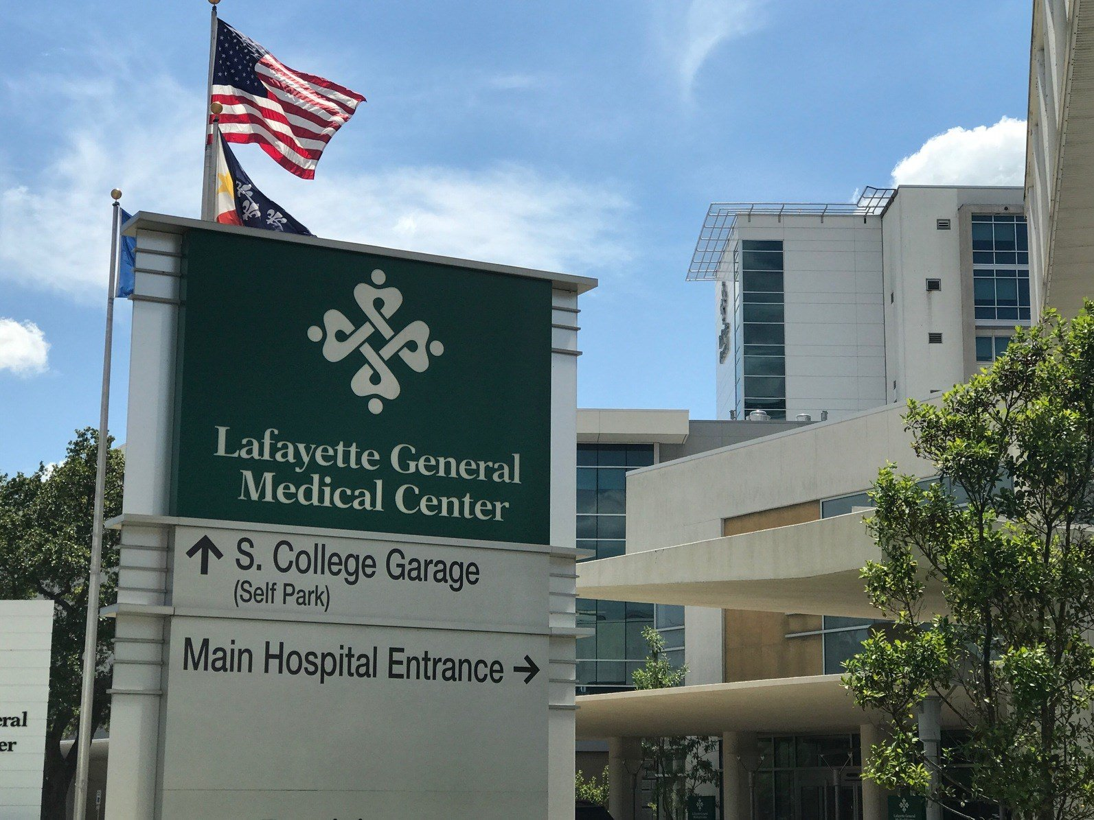 Child recovering at Lafayette General