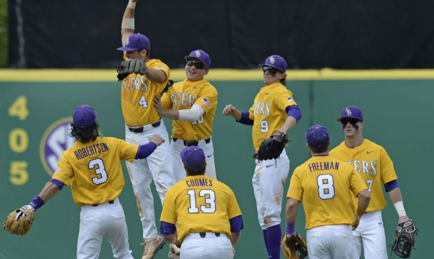 LSU Takes Opening Game Over MSU, 3-1
