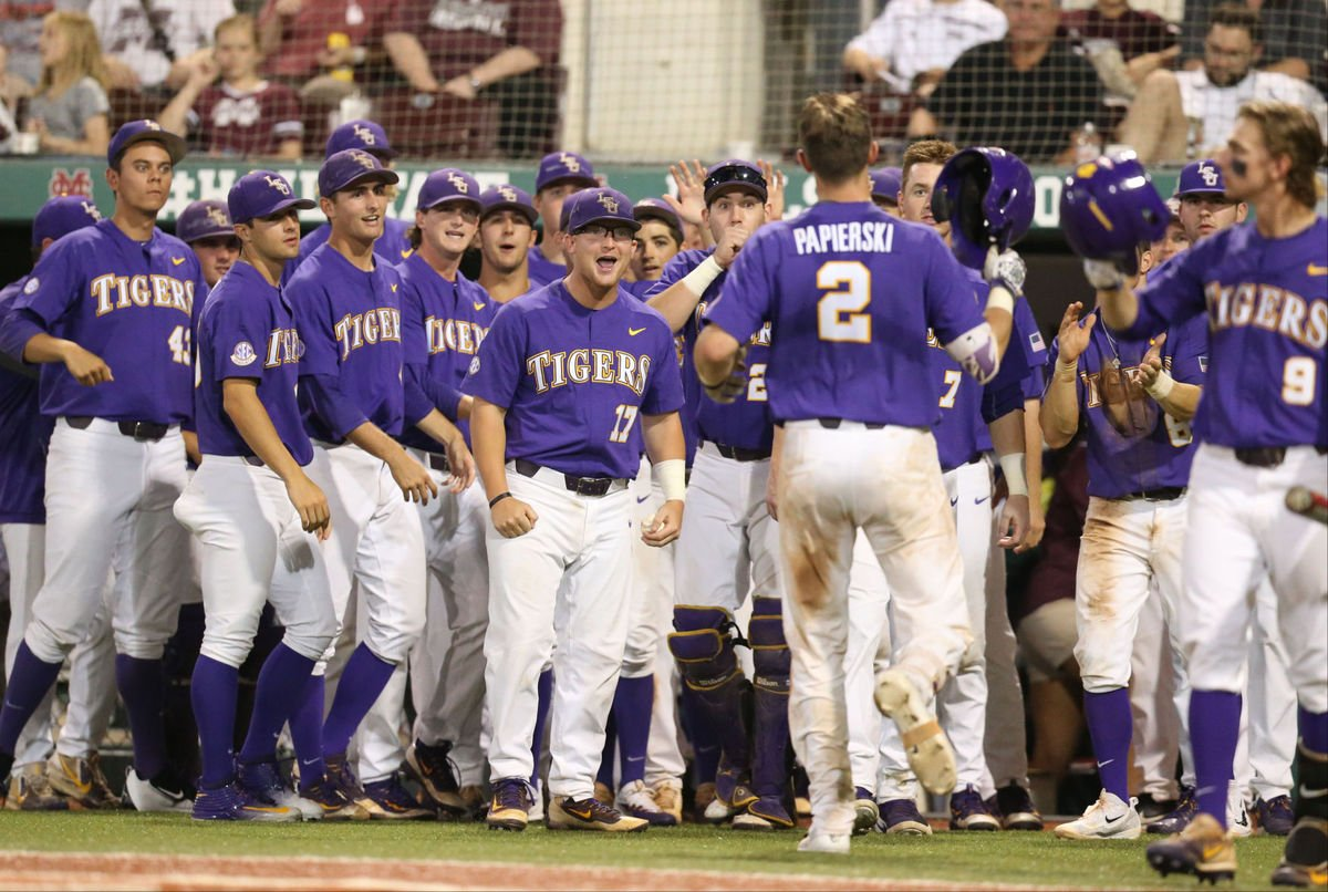 LSU Brings Out The Brooms Against Mississippi State