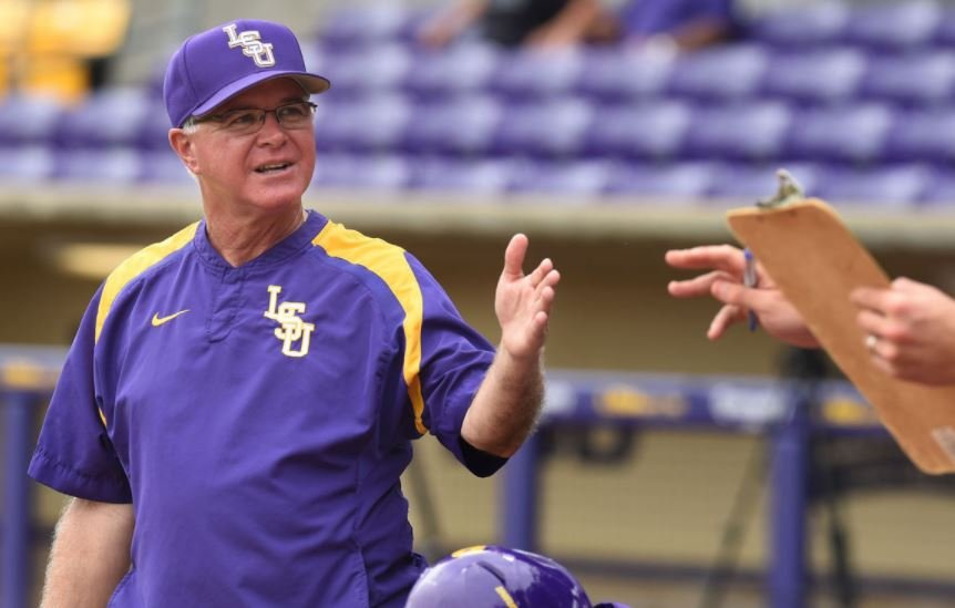 LSU head baseball coach Paul Mainieri (Photo Credit: Advocate Staff Photo)