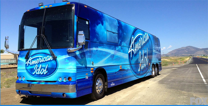 American Idol Bus / Courtesy of ABC Entertainment