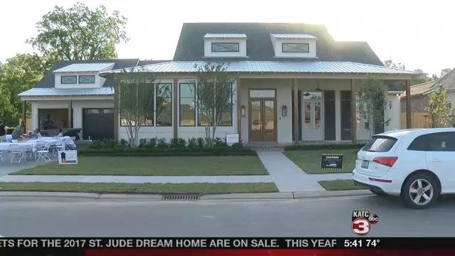 St. Jude Dream Home 2017, located in The Reserve subdivision in Broussard
