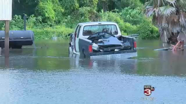 Flooding in St. Mary Parish