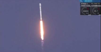 SpaceX rocket launch in Florida / Courtesy of CNN