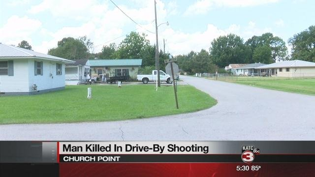 Man killed in drive-by shooting on N Wilson St. in Church Point