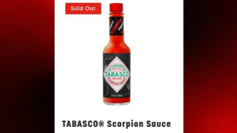 Tobasco Scorpion Sauce / Mclhenny Company Country Store
