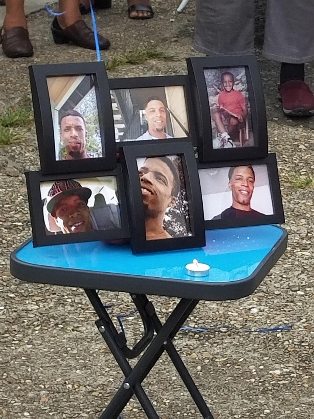 Family and friends of Alex Babineaux gathered in Church Point for a vigil.