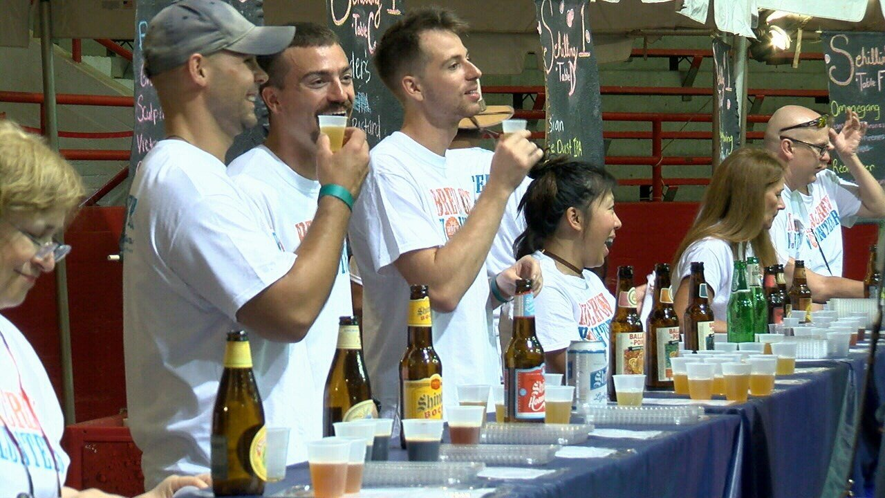 Gulf Brew invited beer connoisseurs to the Blackham Coliseum.