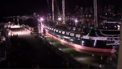 USS Constitution / Courtesy of CNN