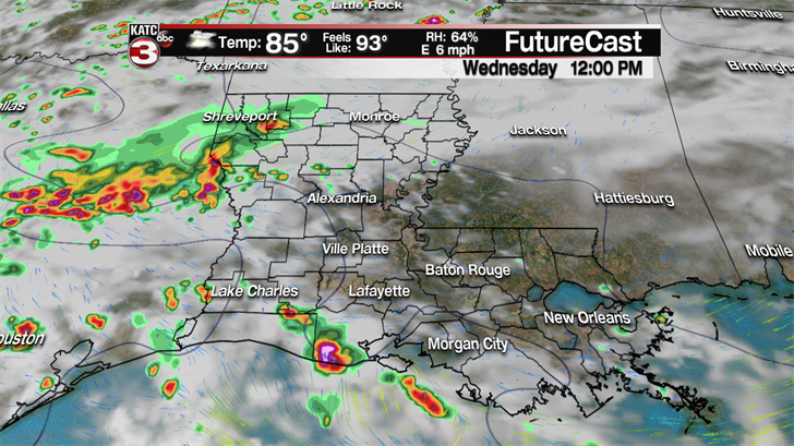 Drying out this evening, but more storms for Saturday