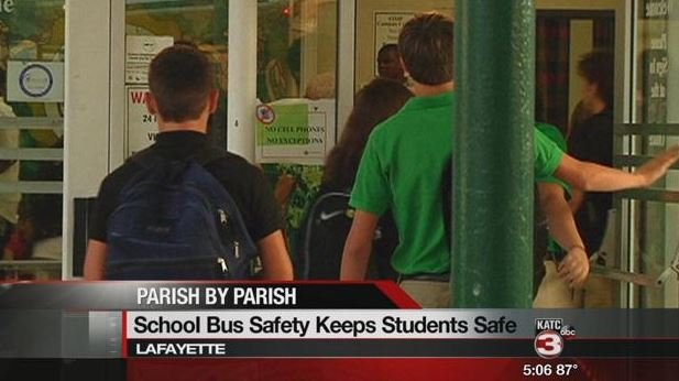 Motorists play important role in school bus safety
