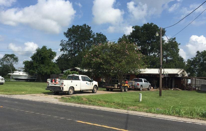 Lafayette firefighters were on scene early Friday morning on Ridge Road / KATC
