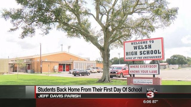 School's in session for Jeff Davis Parish