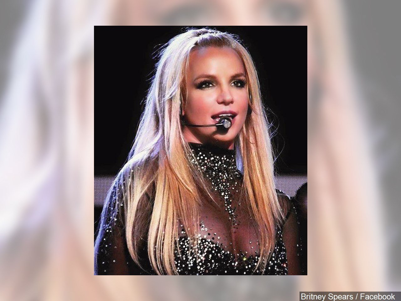 Britney Spears staged rushed by crazed fan,