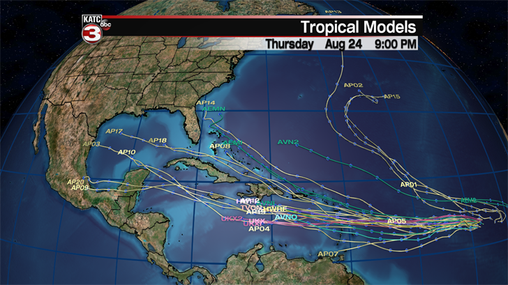 Tropical depression could form Thursday, approaching Caribbean