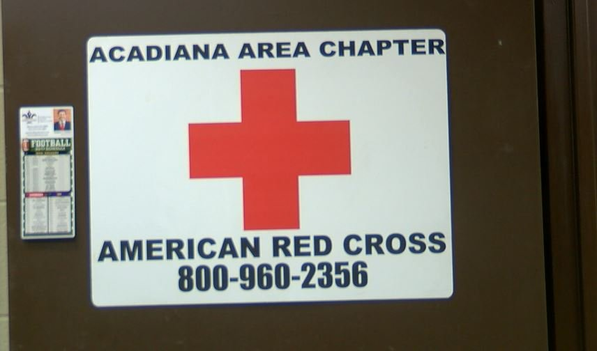Local Red Cross volunteers are in Texas to help flood victims