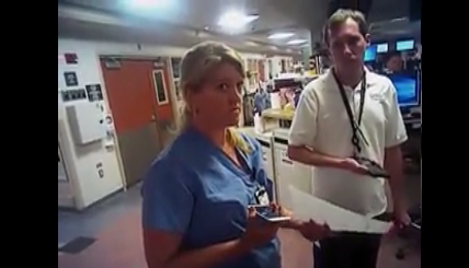 Newly-released footage shows arrest of U of U Hospital nurse